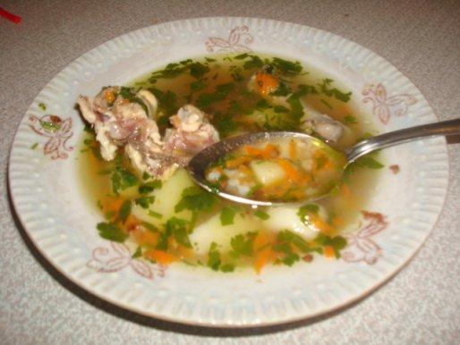 Рецепт. Гречневый суп