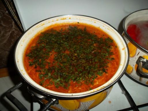 Рецепт. Борщ кавказский