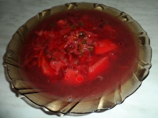 Рецепт. Борщ вегетарианский