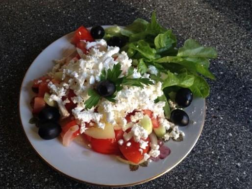 Рецепт. Салат болгарский