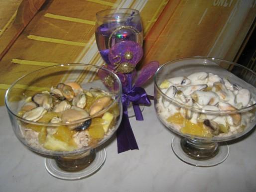 Рецепт. Салат коктейль