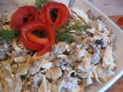 Рецепт. Салат мужской