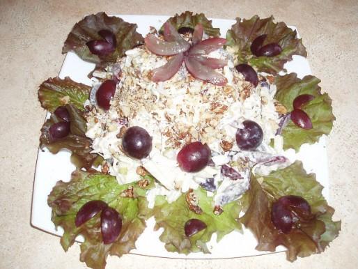 Рецепт. Салат с грудкой