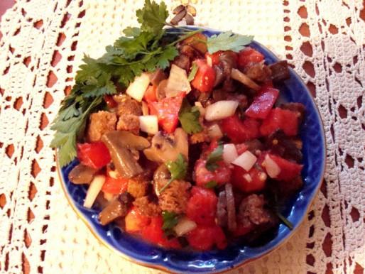 Рецепт. Итальянский салат