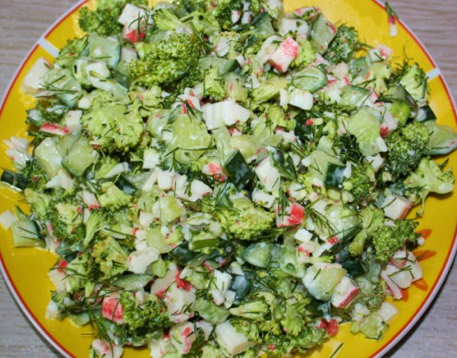 "Рецепт. Салат ""Зеленый"""