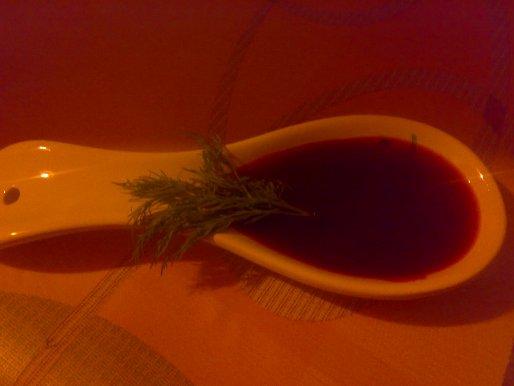 Рецепт. Кисло-сладкий соус вишневый к мясу