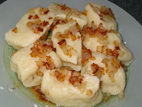 Рецепт. Галушки из картофеля (клецки)
