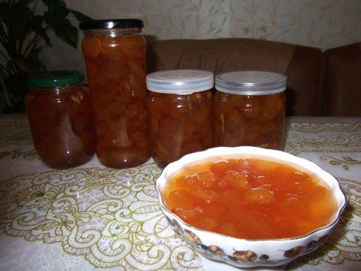 Рецепт. Варенье из черешни с ванилью
