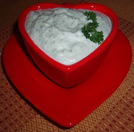 Рецепт. Соус для креветок с сыром