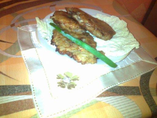 Рецепт. Отбивные из свинины в луковом кляре