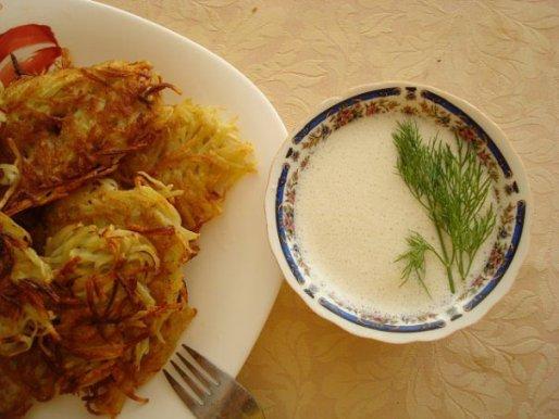 Рецепт. Белый соус на молоке для картошки