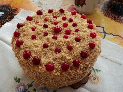 """Рецепт. Торт творожный """"Наполеон"""""""