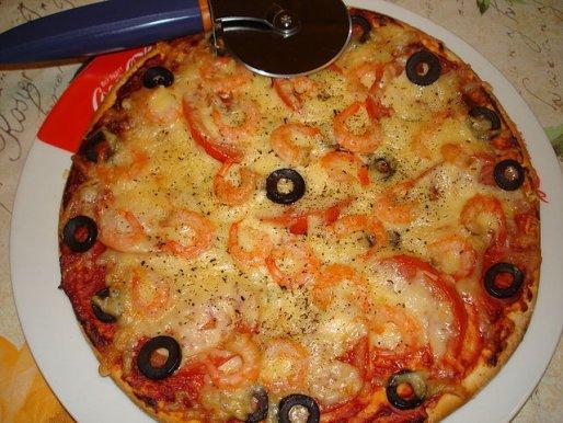 Рецепт. Тесто для пиццы без дрожжей