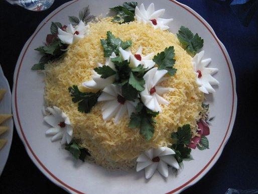 Рецепт. Салат из сельдерея
