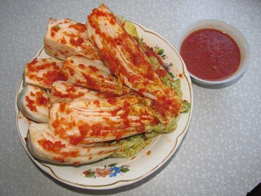 Рецепт. Пекинская капуста по-корейски