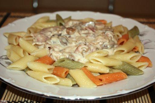 """Рецепт. Спагетти """"Карбонара"""". Соус """"Карбонара"""""""