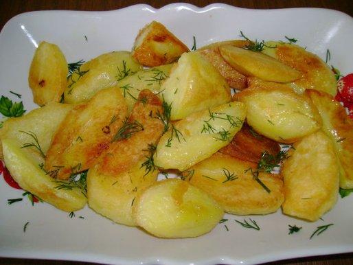 Рецепт. Картошка по-селянски