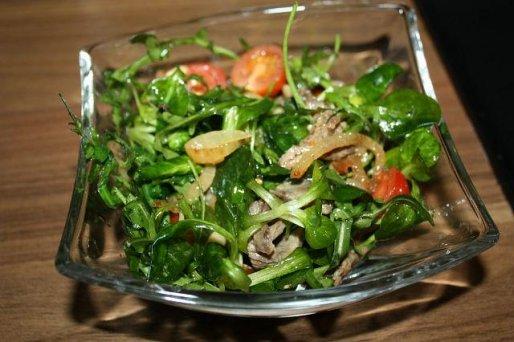 Рецепт. Салат с рукколой
