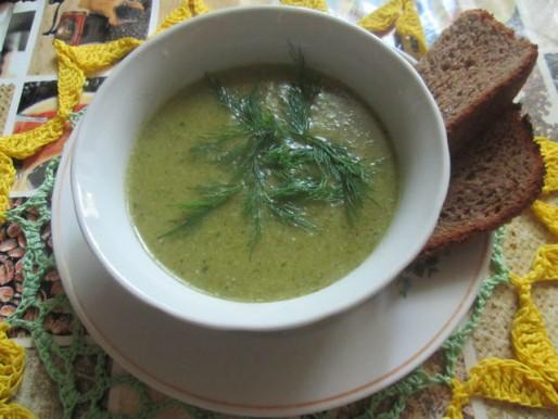 Рецепт. Суп из брокколи