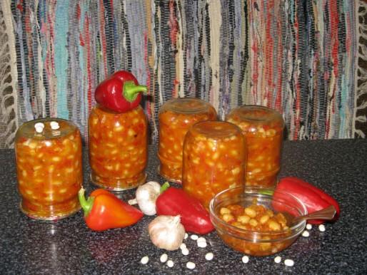 Рецепт. Заправка для супа из фасоли