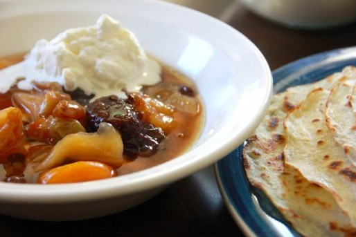 Рецепт. Сладкий суп