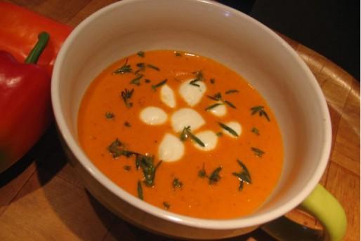 Рецепт. Суп с перцем