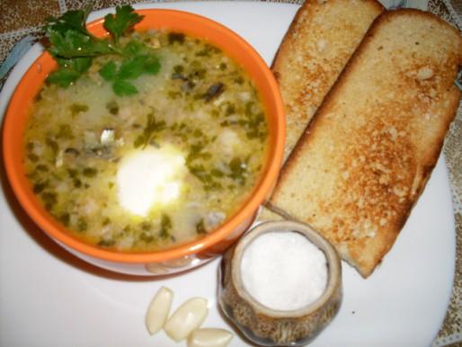 Рецепт. Суп с сардиной