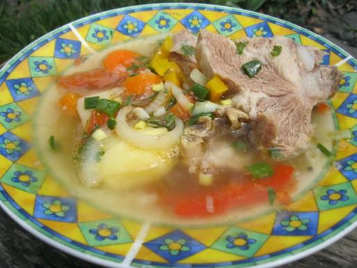 Рецепт. Суп из баранины