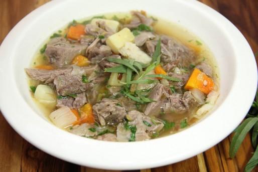 Рецепт. Мясной суп