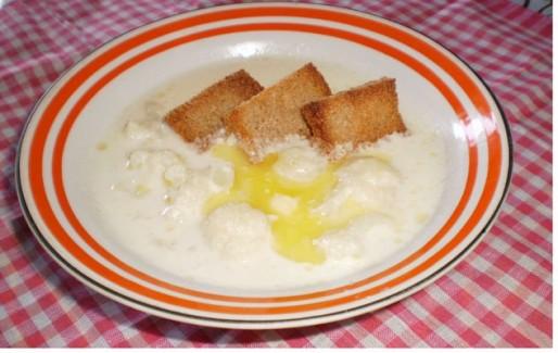 Рецепт. Молочный суп