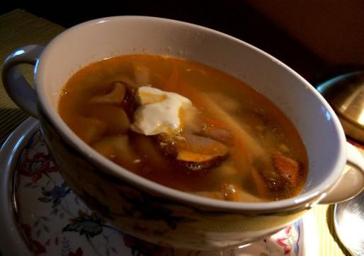 Рецепт. Суп домашний