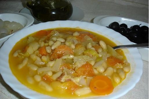 Рецепт. Суп без мяса