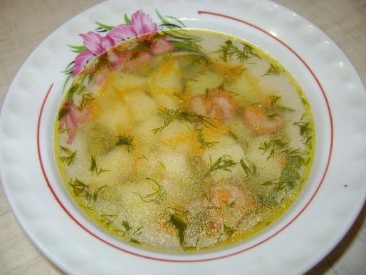 Рецепт. Простой суп