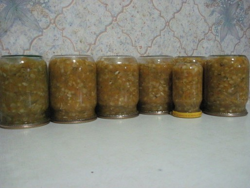 Рецепт. Заправка для супа на зиму с перловкой