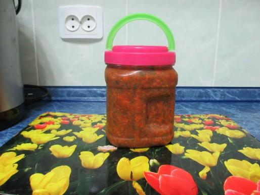 Рецепт. Заправка для супа из овощей