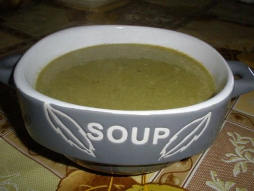 Рецепт. Суп зеленый