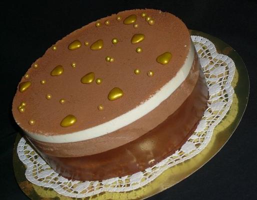"Рецепт. Торт ""Три шоколада"" со сливочным ликером"