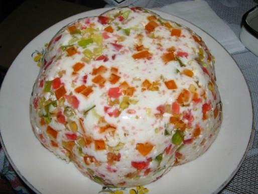 """Рецепт. Торт """"Битое стекло"""" с крекером"""