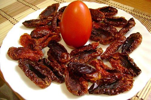 Рецепт. Сушеные помидоры в духовке