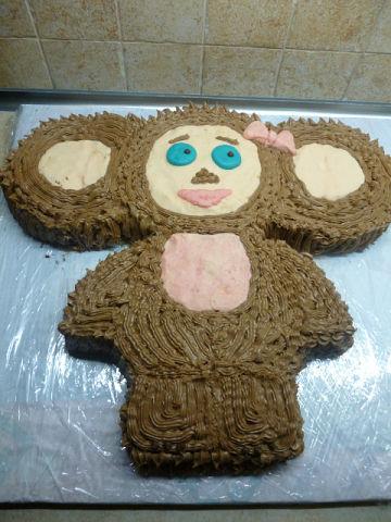 Рецепт. Детские торты из бисквита