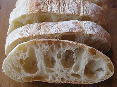 Рецепт. Чиабатта - итальянский хлеб