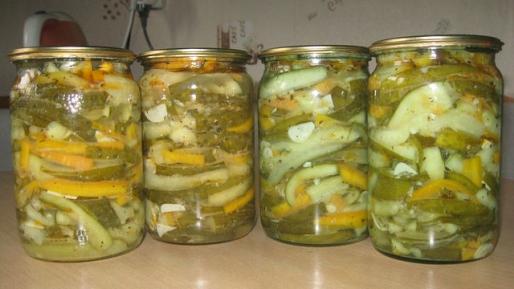 Рецепт. Огурцы по-корейски с морковью