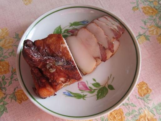 Рецепт. Маринованное сало со специями