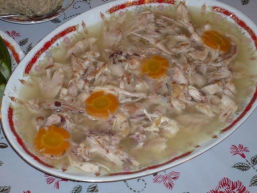Рецепт. Холодец из петуха (домашнего)