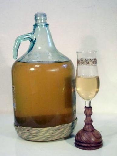 Рецепт. Яблочное вино с добавлением водки