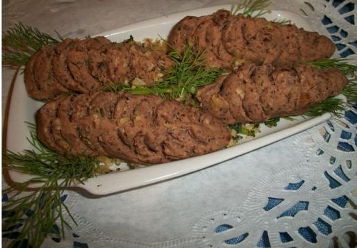 Рецепт. Паштет из фасоли с грецкими орехами