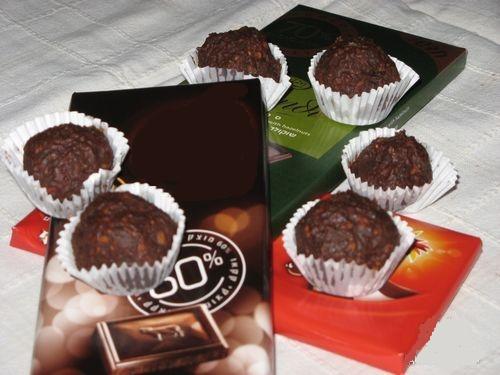 Рецепт. Грильяж в шоколаде с коньяком